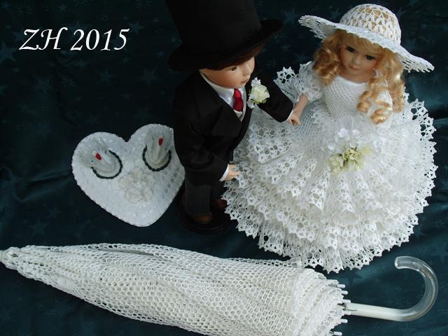 Snad přinese štěstí novomanželům a nebo aspoň kousek radosti při tom  svatebním shonu c75ccc3895